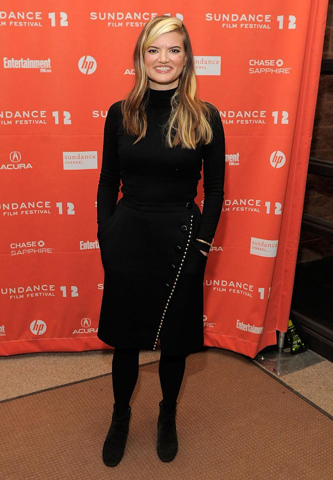 "PARK CITY, UT - JANUARY 23:  Director Leslye Headland attends the ""Bachelorette"" premiere during the 2012 Sundance Film Festival held at Eccles Center Theatre on January 23, 2012 in Park City, Utah.  (Photo by Jemal Countess/Getty Images)"