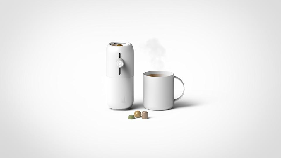 The Droops Coffee Maker concept by Eason Chow