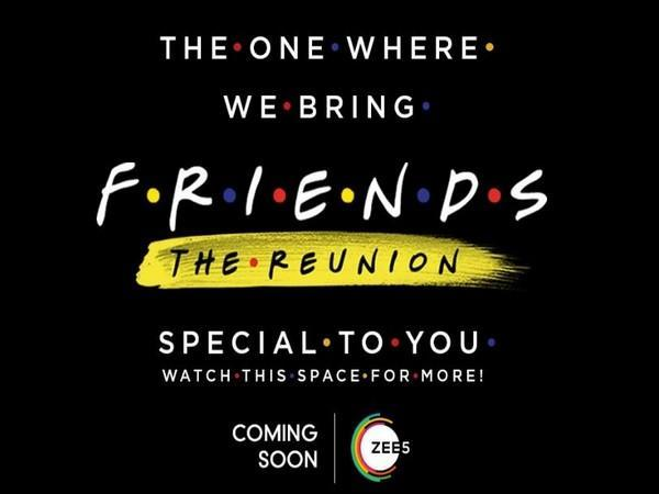 Poster of 'Friends: The Reunion' (Image Source: Twitter)