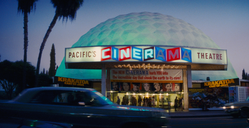 Cinerama Dome scene in Once Upon a time in Hollywood