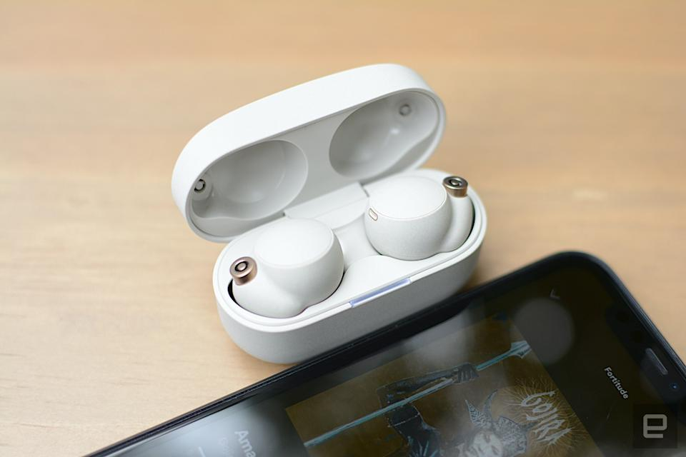 Sony totally overhauled its true wireless earbuds with a new design, more powerful noise cancellation, improved battery life and more. However, the choice to change to foam tips leads to an awkward fit that could be an issue for some people. The M4 is also more expensive than its predecessor, which wouldn't be a big deal if fit wasn't a concern.