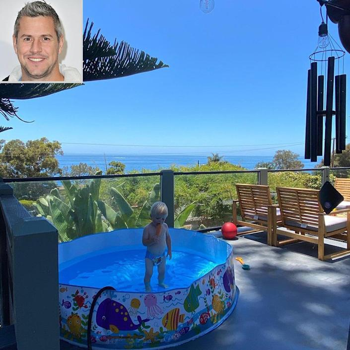 celebs at home Ant Anstead