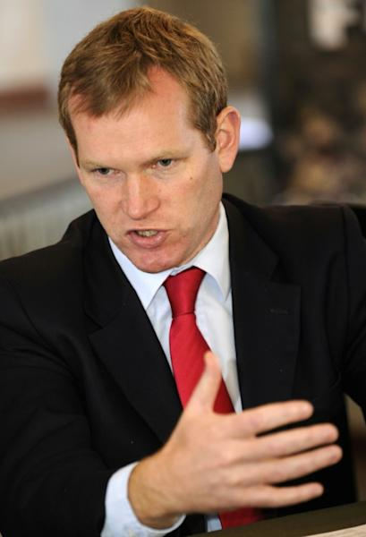 The City of London's special representative to the EU Jeremy Browne, pictured in 2011