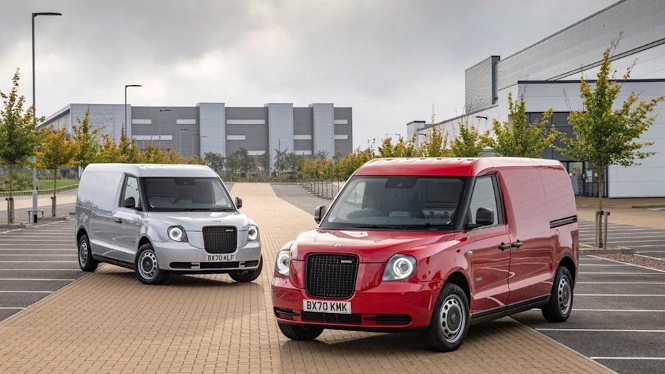 The VN5 is derived from the LEVC TX taxis we see running around our cities (LEVC)