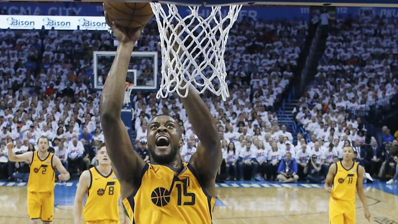 Derrick Favors re-signing with Utah Jazz