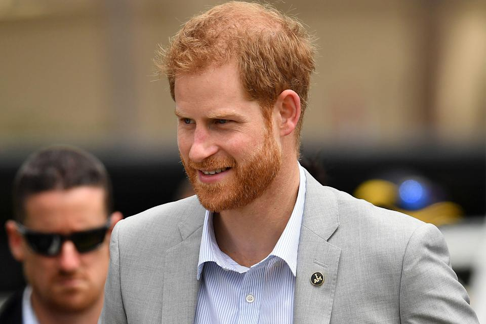 Prince Harry is the UK's most popular royal, according to a poll (Getty)