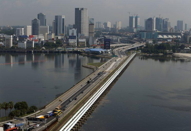 Woodlands Checkpoint in Singapore. Reuters file photo