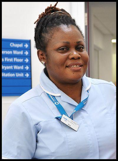Afua Fofie was a healthcare assistant at Teddington Memorial Hospital (Family handout/PA)