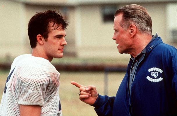 PHOTO: 1James Van Der Beek, left, and John Voight in a scene from 'Varsity Blues.' (via Getty Images)