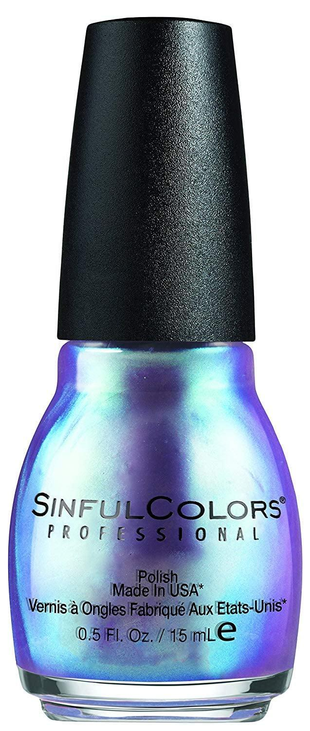<p>If you like daring hues, the <span>Sinful Colors Professional Nail Polish Enamel in Let Me Go </span> ($6) shifts between blue and purple and applies opaquely in one swipe of the brush.</p>