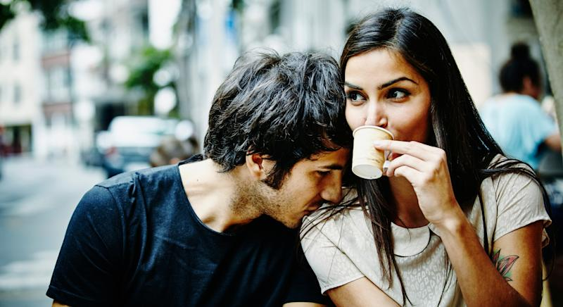 A new study has discovered how to predict whether couples will stay together or split up [Image: Getty]