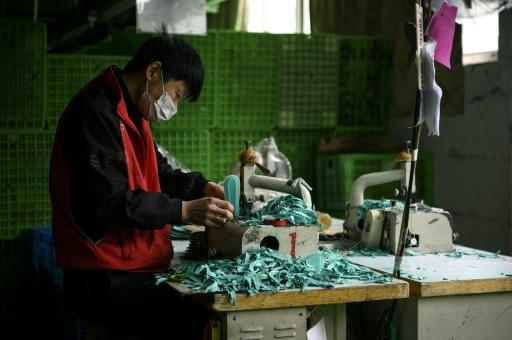 Much of the workforce at Xuda's factory in Wenzhou are absent -- blocked by virus-induced travel disruptions and safety measures