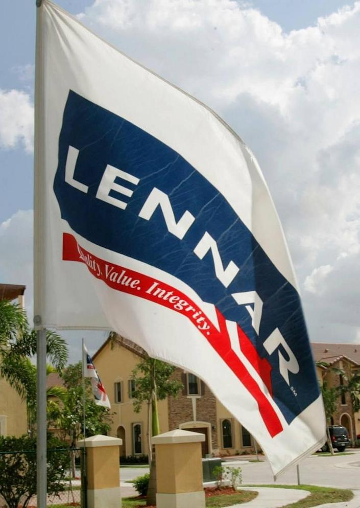 Shares in Miami-based homebuilder Lennar fell 38 percent in 2018, alongside a broad selloff among other companies in the housing industry.