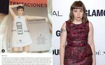 """<p>The Girls star had a right old go at Spanish magazine Tentaciones over this front cover. """"It doesn't reflect what my body has ever looked like or will ever look like,"""" she said. It later transpired that Lena's people had approved the image before it reached the magazine and they used it untouched. </p>"""