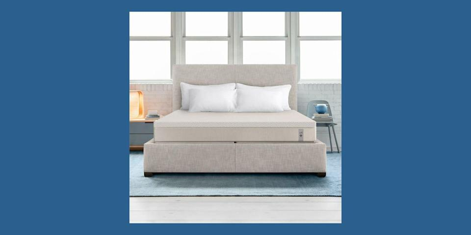 """<p>If a super-adjustable bed is what you seek, <a href=""""https://www.sleepnumber.com/"""" rel=""""nofollow noopener"""" target=""""_blank"""" data-ylk=""""slk:Sleep Number"""" class=""""link rapid-noclick-resp"""">Sleep Number</a> has your back—literally. The brand has been around since 1987, and all of its mattresses are controlled either by a special remote or a smartphone app to make sure that you <em>and</em> your partner are always comfortable in bed. Just take the quiz to find your perfect Sleep Number, and adjust your number as needed with use. Sleep Number offers a 100-night trial and a 15-year warranty. </p><p><a class=""""link rapid-noclick-resp"""" href=""""https://go.redirectingat.com?id=74968X1596630&url=https%3A%2F%2Fwww.tuftandneedle.com%2Fmattress%2Foriginal%2F&sref=https%3A%2F%2Fwww.housebeautiful.com%2Fshopping%2Ffurniture%2Fg32291079%2Fbest-mattress-brands%2F"""" rel=""""nofollow noopener"""" target=""""_blank"""" data-ylk=""""slk:BUY NOW"""">BUY NOW</a> <strong>360 c4 Smart Bed, $1,499, <em>sleepnumber.com</em></strong></p>"""