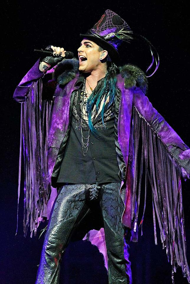 "Former ""American Idol"" runner-up Adam Lambert quickly distinguished himself on the show with his creative song choices and glam getups. A year later, he's still stealing the spotlight! Donald Kravitz/<a href=""http://www.gettyimages.com/"" target=""new"">GettyImages.com</a> - June 26, 2010"