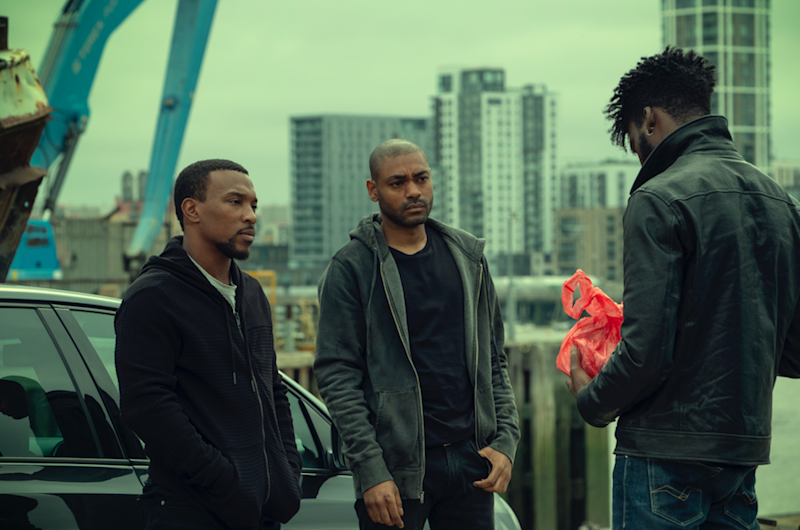 Walters as Dushane and Kano as Sully in 'Top Boy': Netflix