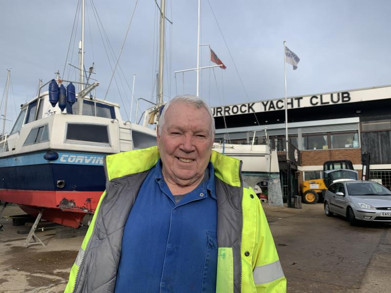 "Tony Judd, 75, a volunteer at Grays' yacht club, said he felt ""sick"" about backing Johnson but saw little alternative. Photo: Tom Belger / Yahoo Finance UK"