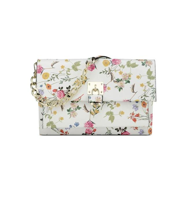 "<p>Fausta Foldover Clutch, $69, <a href=""http://www.ninewest.com/Fausta-Foldover-Clutch/31023560,default,pd.html?variantColor=JJ2JJ0D&cgid=8346270"" rel=""nofollow noopener"" target=""_blank"" data-ylk=""slk:ninewest.com"" class=""link rapid-noclick-resp"">ninewest.com</a> </p>"