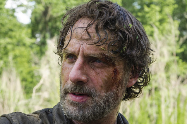 Andrew Lincoln as Rick Grimes in <em>The Walking Dead</em> (Photo Credit: Gene Page/AMC)