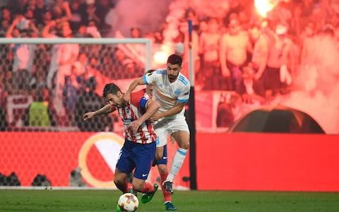 Atletico vs Marseille - Credit: AFP