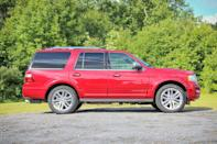<p>Full-size Crossover/SUV, 2nd Place: 2007-2016 Ford Expedition (Yahoo Autos) </p>