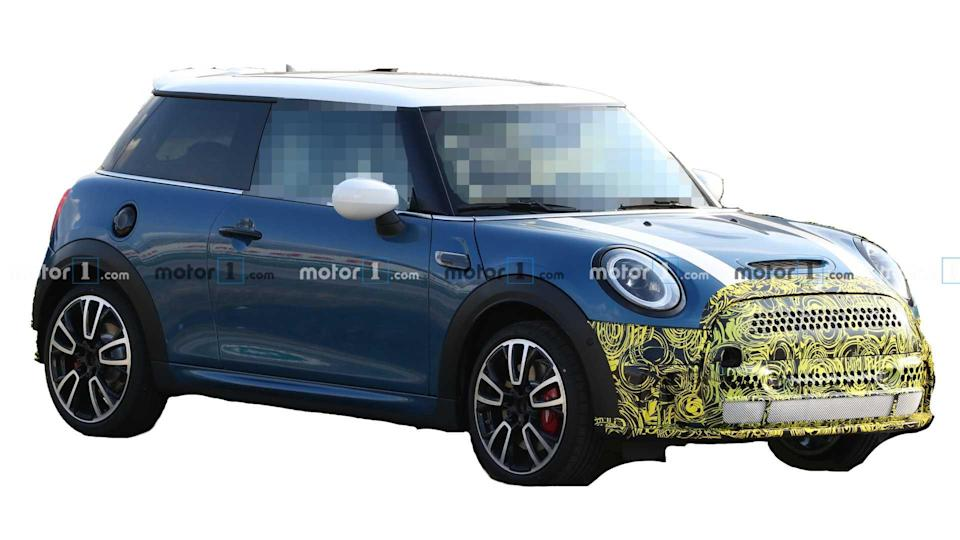 """<p>The <a href=""""https://www.motor1.com/mini/cooper-hardtop/"""" rel=""""nofollow noopener"""" target=""""_blank"""" data-ylk=""""slk:Mini Hardtop"""" class=""""link rapid-noclick-resp"""">Mini Hardtop</a> has another refresh coming. The changes don't appear too significant, though. There's a new front fascia, revised grille, and slight tweaks to the rear bumper</p> <h3><a href=""""https://www.motor1.com/news/431278/mini-facelift-spy-photos/"""" rel=""""nofollow noopener"""" target=""""_blank"""" data-ylk=""""slk:Mini Cooper Hardtop Spied Showing Sportier Look"""" class=""""link rapid-noclick-resp"""">Mini Cooper Hardtop Spied Showing Sportier Look</a></h3> <br><a href=""""https://www.motor1.com/news/427880/mini-john-cooper-works-gp-pack/"""" rel=""""nofollow noopener"""" target=""""_blank"""" data-ylk=""""slk:Mini John Cooper Works GP Pack Adds Visual Punch To JCW Hardtop"""" class=""""link rapid-noclick-resp"""">Mini John Cooper Works GP Pack Adds Visual Punch To JCW Hardtop</a><br><a href=""""https://www.motor1.com/news/424652/mini-oxford-edition-available-everyone/"""" rel=""""nofollow noopener"""" target=""""_blank"""" data-ylk=""""slk:Value-Packed Mini Oxford Edition Now Available To Everyone"""" class=""""link rapid-noclick-resp"""">Value-Packed Mini Oxford Edition Now Available To Everyone</a><br>"""