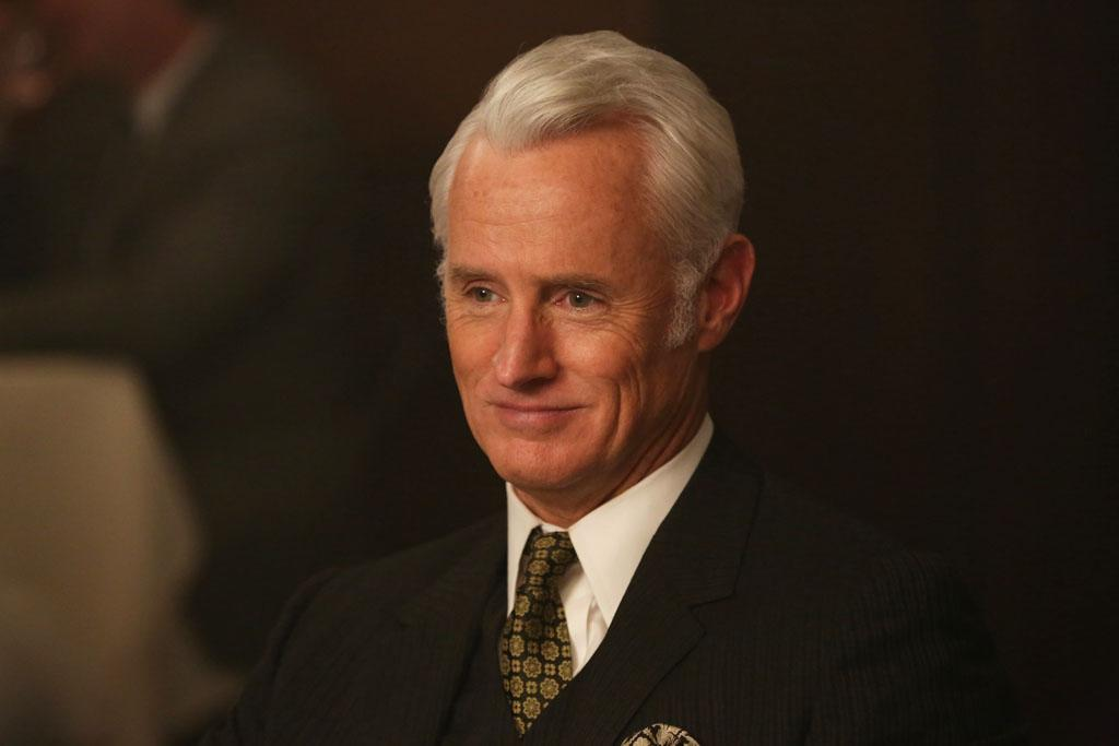 "Roger Sterling (John Slattery) in the ""Mad Men"" episode, ""Favors."""