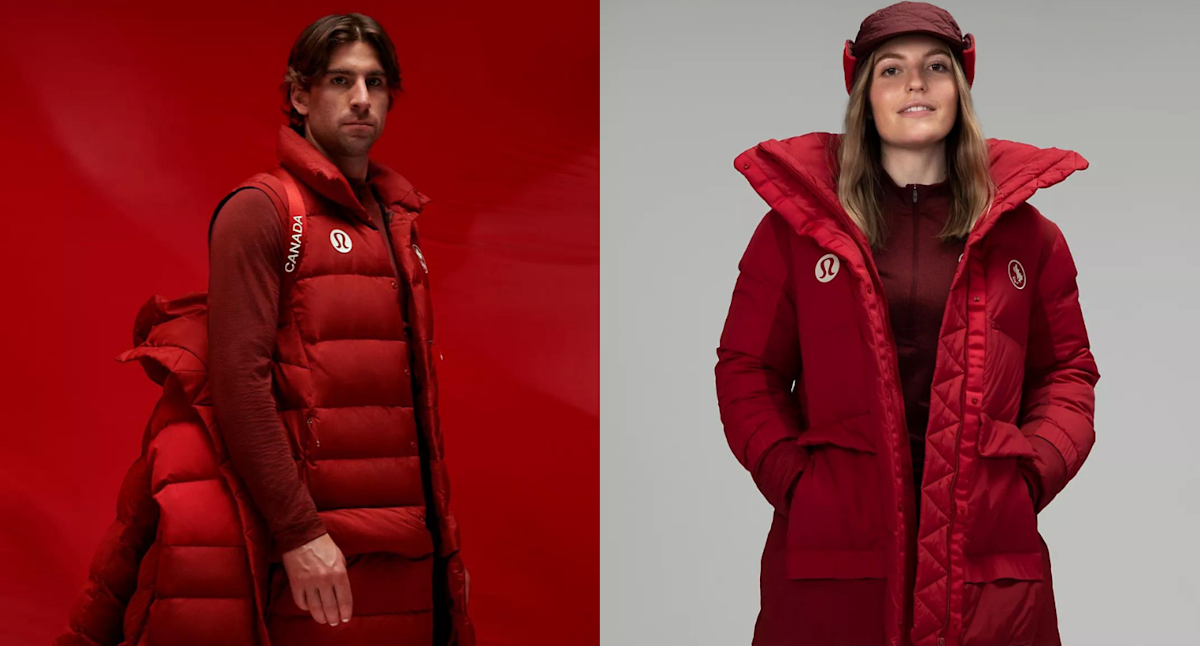 Here's how to get your hands on Lululemon's new Team Canada Olympic gear