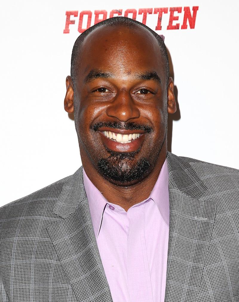 Former professional football player Donovan McNabb attends the 'Forgotten Four: The Integration Of Pro Football' screening presented by EPIX & UCLA at Royce Hall, UCLA on September 9, 2014 in Westwood, California.