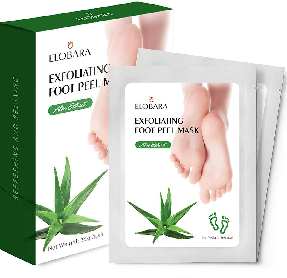 Elobara Foot Peel Mask- Amazon.