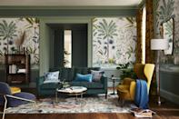 """<p>For autumn/winter, it's all about layering rich colours with warm textures and materials. Create the ultimate spot for hunkering down with cosy <a href=""""https://www.housebeautiful.com/uk/lifestyle/shopping/g36003442/floor-cushions/"""" rel=""""nofollow noopener"""" target=""""_blank"""" data-ylk=""""slk:cushions"""" class=""""link rapid-noclick-resp"""">cushions</a>, delightful blankets and warm rugs underfoot. We couldn't think of anywhere better to unwind on a winter's day...</p>"""