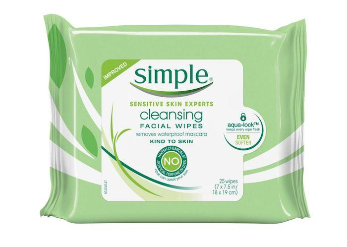 "Hamlin Penske said she loves the&nbsp;<a href=""https://www.target.com/p/simple-kind-to-skin-cleansing-facial-wipes-25-ct/-/A-13903998"" target=""_blank"">Simple Cleansing Facial Wipes</a>, which she&rsquo;s found especially useful when working with male clients, as they tend to love a quick makeup removal option. Hamlin Penske noted that her 9-year-old daughter also makes use of the wipes as she loves to play around with makeup.<br /><br /><strong><a href=""https://www.target.com/p/simple-kind-to-skin-cleansing-facial-wipes-25-ct/-/A-13903998"" target=""_blank"">Simple cleansing facial wipes</a>, $4.49 at Target</strong>"