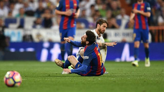 Gerard Pique is adamant Sergio Ramos could have no complaints after being dismissed in Real Madrid's 3-2 loss against Barcelona.
