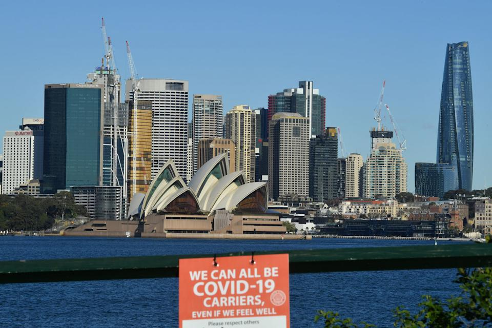 NSW recorded 98 new Covid-19 cases on Monday. Source: AAP