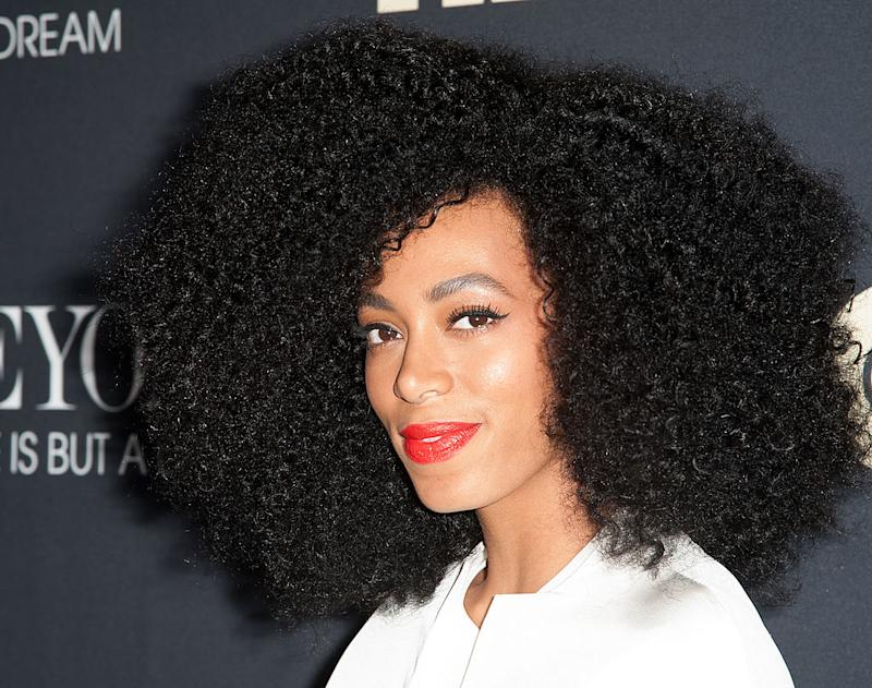 Solange Knowles Celebrity Hairstyles