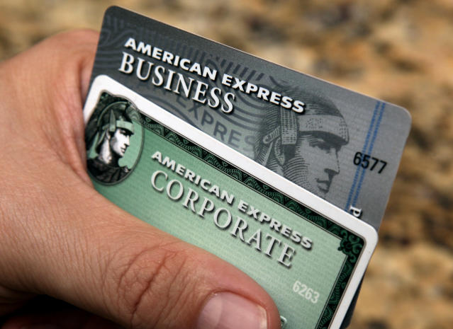 American Express's new service doesn't require cards and makes same-day settlement possible. (AP Photo/Ross D. Franklin, File)
