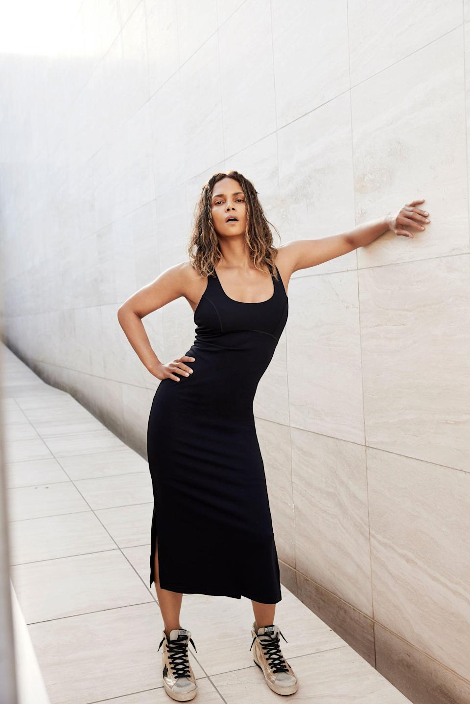 <p>When you need an essential gym to street look, throw on this <span>Halle Berry x Sweaty Betty Emily Strappy Back Dress</span> ($148).</p>