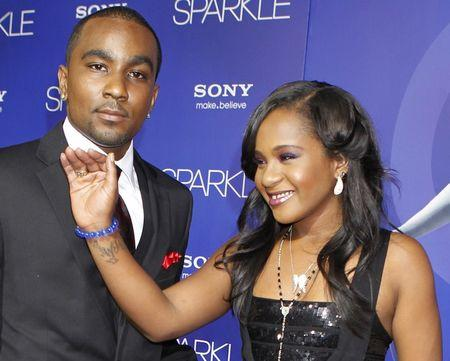 Bobbi Kristina Brown arrives with boyfriend Nick Gordon at the premiere of the new film 'Sparkle' in Hollywood