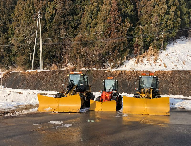Low on snow: Japan's Olympic cooling plans on thin ice