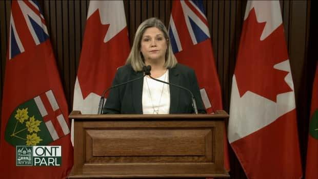 Andrea Horwath is leader of the Ontario's official opposition, whose role it is to critique and scrutinize a sitting government and hold its officials to account, a job that includes questioning ministers during question period.
