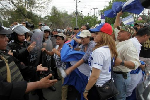 Police block farmers' protest against planned Nicaragua canal
