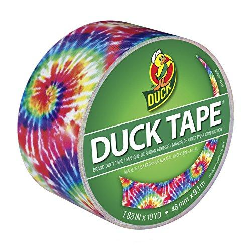 "Duck Brand 283268 Color Printed Duct Tape, Love Tie Dye, 1.88"" x 10 Yards, Single Roll (Amazon / Amazon)"