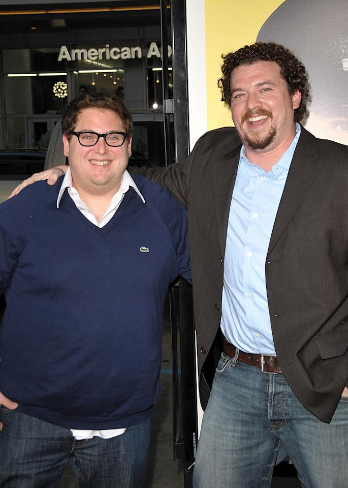 "<a href=""http://movies.yahoo.com/movie/contributor/1808716500"">Jonah Hill</a> and <a href=""http://movies.yahoo.com/movie/contributor/1802103902"">Danny R. McBride</a> at the Los Angeles premiere of <a href=""http://movies.yahoo.com/movie/1810025224/info"">Observe and Report</a> - 04/06/2009"