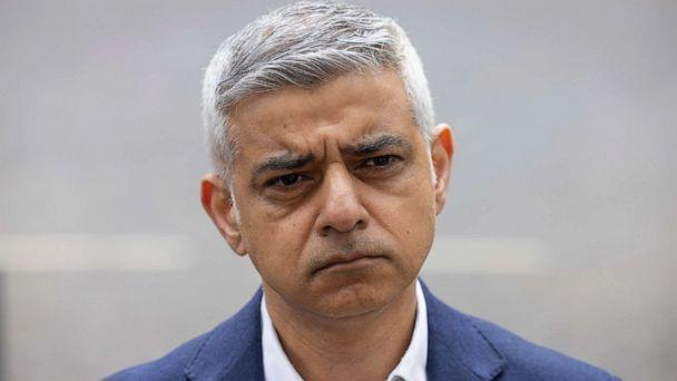 PHOTO: Mayor of London Sadiq Khan, unveils his campaign advert ahead the London Mayoral elections, on April 15, 2021 in London. (Dan Kitwood/Getty Images)