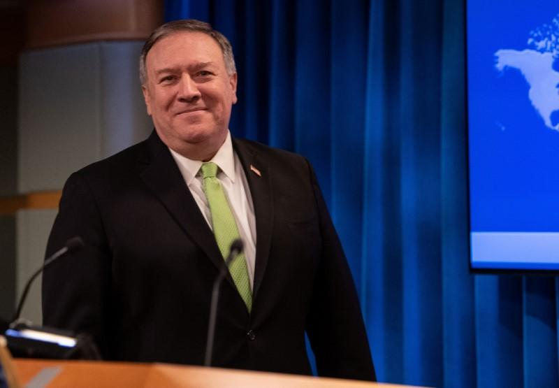 Pompeo says U.S. considers welcoming Hong Kong people, entrepreneurs