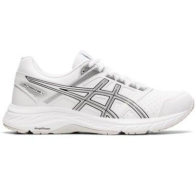 <p>We love the look of these <span>Asics GEL-Contend 5 SL Running Shoes</span> ($40), and it doesn't hurt that they're super supportive and under $50.</p>