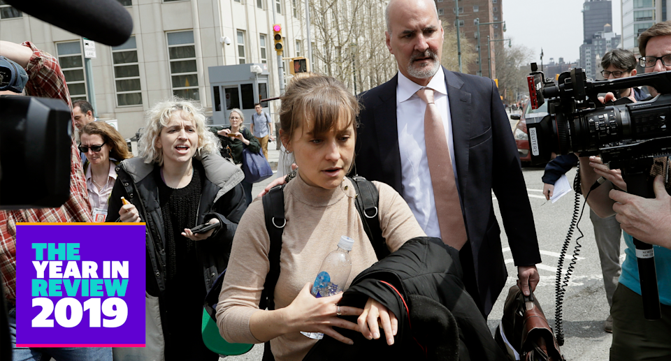 How much prison time will AllisonMack serve for role in Nxivm? (Photo: AP)