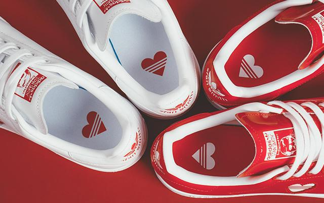 Adidas's Valentines' Stan Smith actually exists!