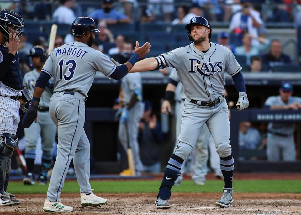 The Rays finished with the best record in the American League -- 100-62.